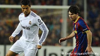 Real Madrid Barcelona Ronaldo Messi (Getty Images/AFP/S. Wu)