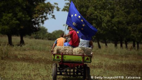 Bulgarien EU Beitritt Symbolbild (Getty Images/AFP/B. Katsarova)