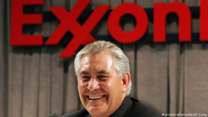 Rex W. Tillerson Exxon Mobil CEO (picture-alliance/dpa/R. Curry)