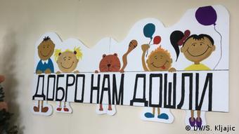 Flüchtlinge Schule Serbien