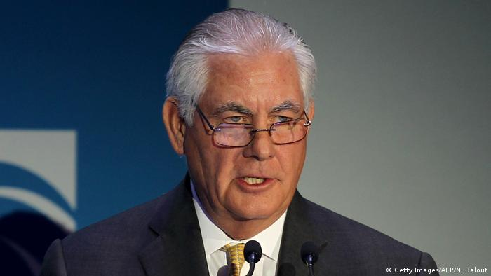 Rex Tillerson CEO ExxonMobil (Getty Images/AFP/N. Balout)