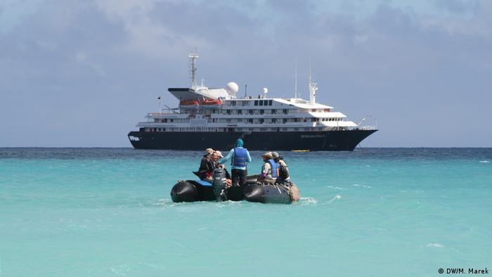 Galapagos Kreuzfahrttourismus (DW/M. Marek)