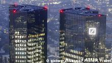 Zentrale Deutsche Bank in Frankfurt (picture-alliance/AP Photo/M. Probst)
