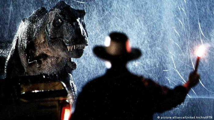Film still from Jurassic Park 1993 (picture-alliance/United Archiv/IFTN)