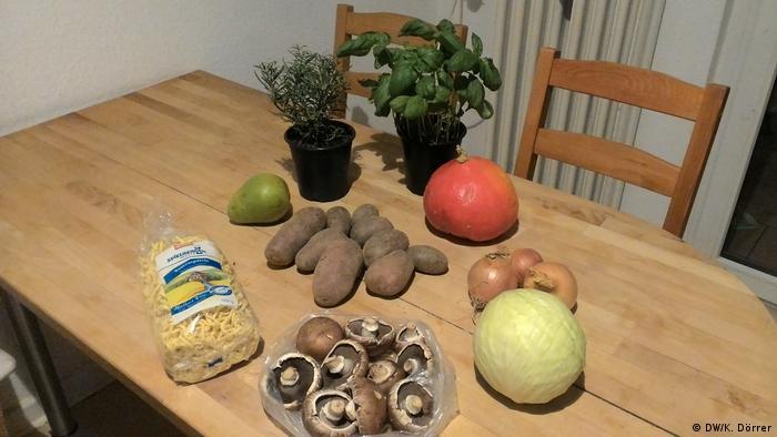 Wettbewerb Regionale Lebensmittel Eating local challenge (DW/K. Dörrer)