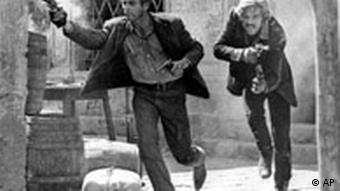 Paul Newman mit Robert Redford