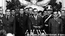 Argentinien Diktator Jorge Rafael Videla, 1976