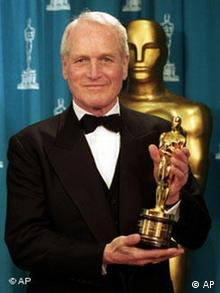 Paul Newman mit Oscar 1994