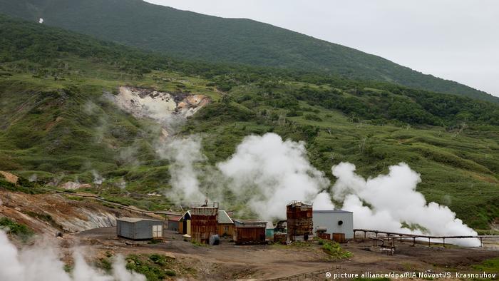 Геотермальная станция Океанская на Итурупе
