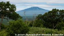 Russland Bogdan Khmelnitsky Vulkan Kurilen