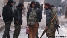 Syrien Krieg - Rebellen-Kämpfer in Aleppo