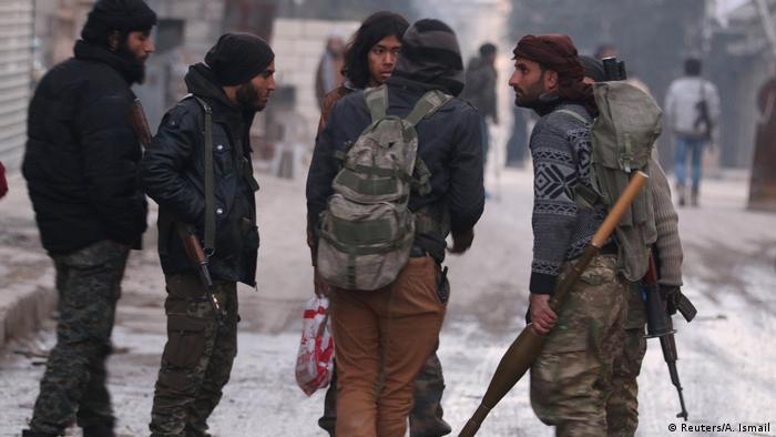 Повстанцы в Алеппо