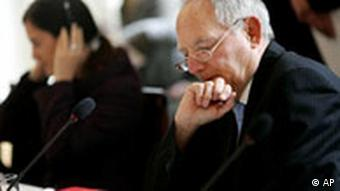 Interior Minister Wolfgang Schaeuble