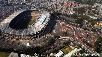 Mexiko Aztekenstadion in Mexiko Stadt (picture-alliance/augenklick/firo Sportphoto)
