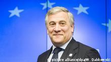Brüssel Antonio Tajani