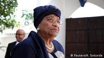 Gambia Staatskrise ECOWAS Treffen Ankunft Ellen Johnson