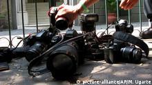 Mexiko Journalistenmorde Symbolbild