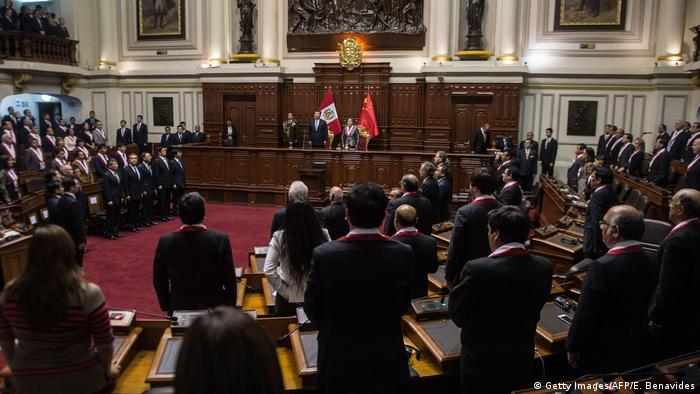 Peru Parlament in Lima (Getty Images/AFP/E. Benavides)