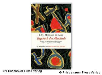 Capa da edição alemã de 'Memorial de Aires', da editora Friedenauer Presse
