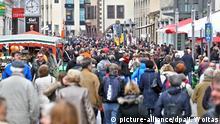 Deutschland Volle Innenstadt