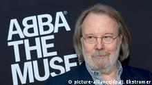 epa05668284 (FILE) The file picture dated 06 May 2013 shows Benny Andersson, former member of Swedish pop group ABBA arriving for the inauguration of 'ABBA The Museum' at the Swedish Music Hall of Fame in Stockholm, Sweden. Benny Andersson turns 70 on 16 December 2016. EPA/JONAS EKSTROMER SWEDEN OUT *** Local Caption *** 50818421 +++(c) dpa - Bildfunk+++