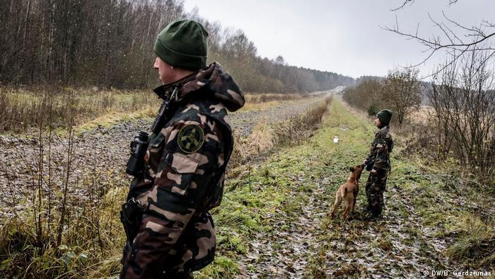 Litauen Schmuggel an der Grenze zu Weissrussland