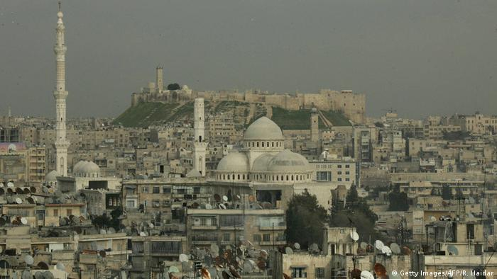 Syrien Stadtpanorama Aleppo 2006 (Getty Images/AFP/R. Haidar)