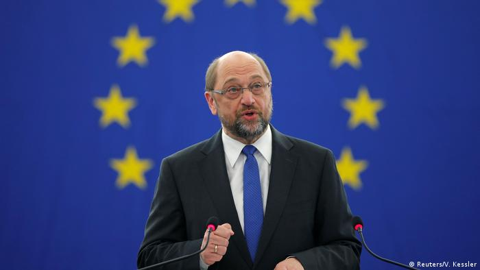 Europäisches Parlament in Straßburg - Abschiedsrede Präsident Martin Schulz (Reuters/V. Kessler)