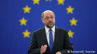 Europäisches Parlament in Straßburg - Abschiedsrede Präsident Martin Schulz