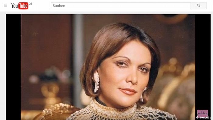 Iran Sängerin Giti Pashaei (Youtube)