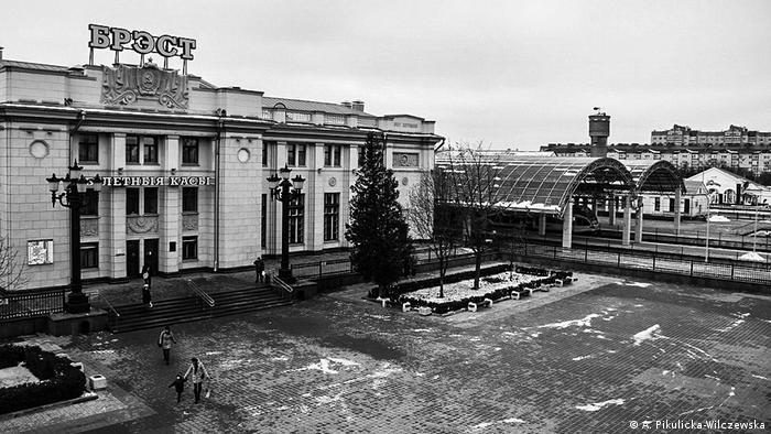 Здание вокзала в Бресте