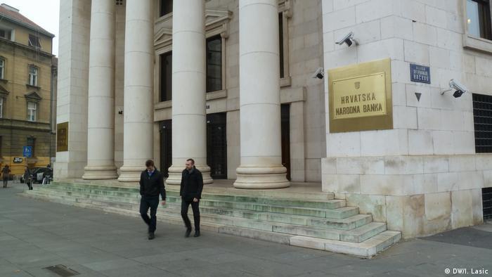 Kroatien Zagreb - Kroatische Zentralbank