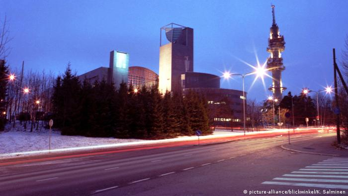 Finnland Sender Yleisradio (picture-alliance/blickwinkel/K. Salminen)