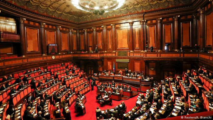 Italien Parlament spricht Premierminister Paolo Gentiloni Vertrauen aus (Reuters/A. Bianchi)