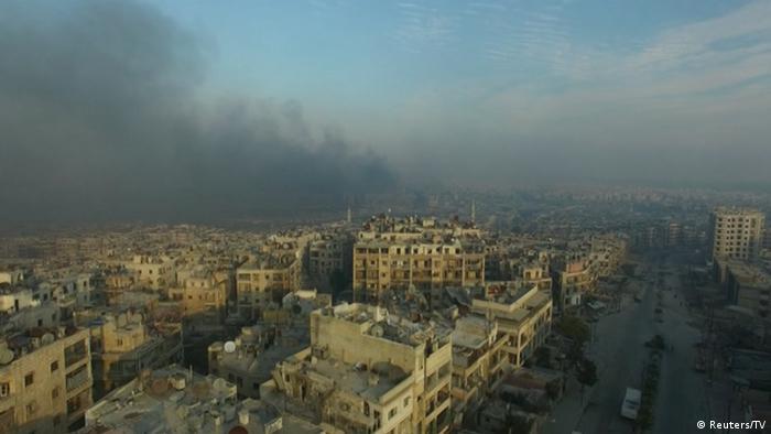 Syrien Krieg - Kämpfe in Aleppo, Ost-Aleppo (Reuters/TV)