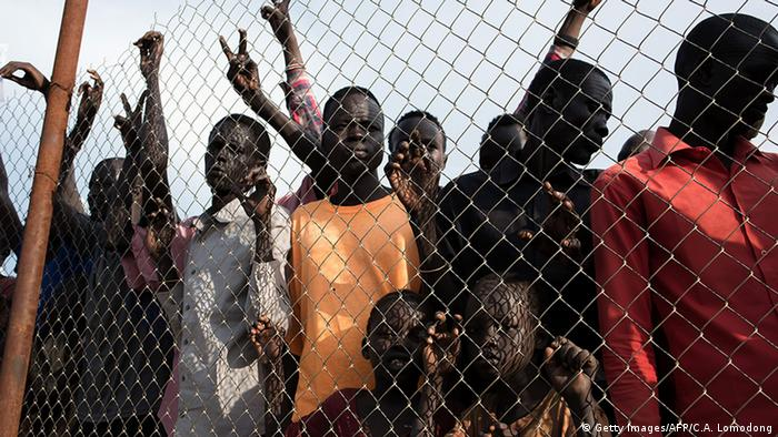 Displaced civilians in South Sudan(Getty Images/AFP/C.A. Lomodong)