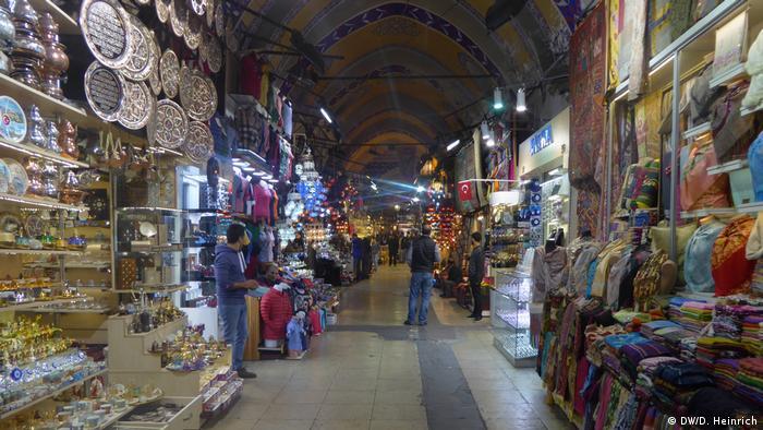 Türkei Istanbul - Großer Basar (DW/D. Heinrich)