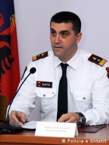Albanien | Generaldirektor für die öffentliche Sicherheit Altin Qato (Policia e Shtetit)
