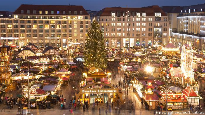 Striezelmarkt in Dresde