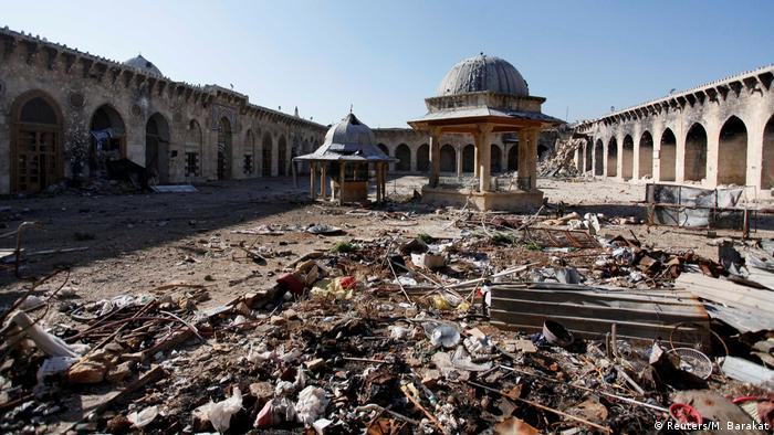 Syrien Bürgerkrieg Aleppo (Reuters/M. Barakat)
