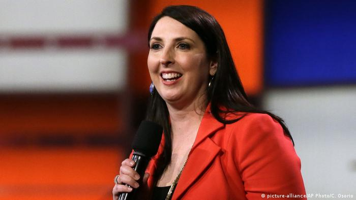 USA Ronna Romney McDaniel Vorsitzende Republikaner (picture-alliance/AP Photo/C. Osorio)