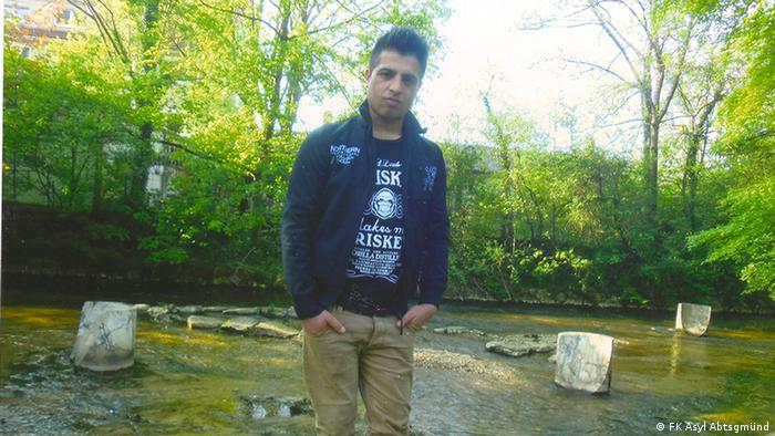 Deutschland Abgeschobener Flüchtling Amir Khan Afzali (FK Asyl Abtsgmünd)
