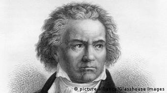 Ludwig van Beethoven Porträt 1873 (picture-alliance/Glasshouse Images)