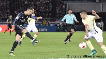 Fußball FIFA Klub-WM Real Madrid vs Club America (picture-alliance/Kyodo)