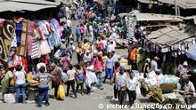 Nairobi Gikomba Second-Hand Markt