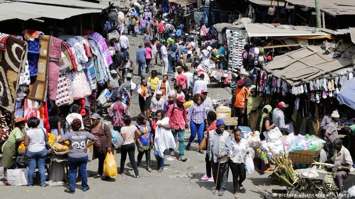 Nairobi Gikomba Second-Hand Markt (picture-alliance/dpa/D. Irungu)
