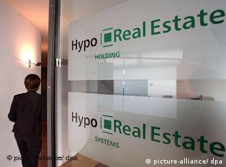 Hypo Real Estate sign