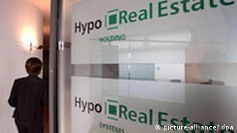 Deutschland Finanzkrise Hypo Real Estate Bank