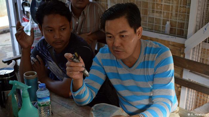 Myanmar Jade-Händler
