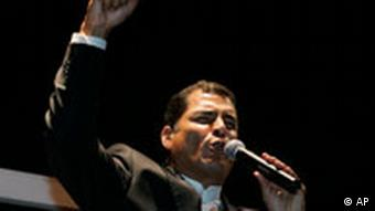 Rafael Correa (Quelle: AP)